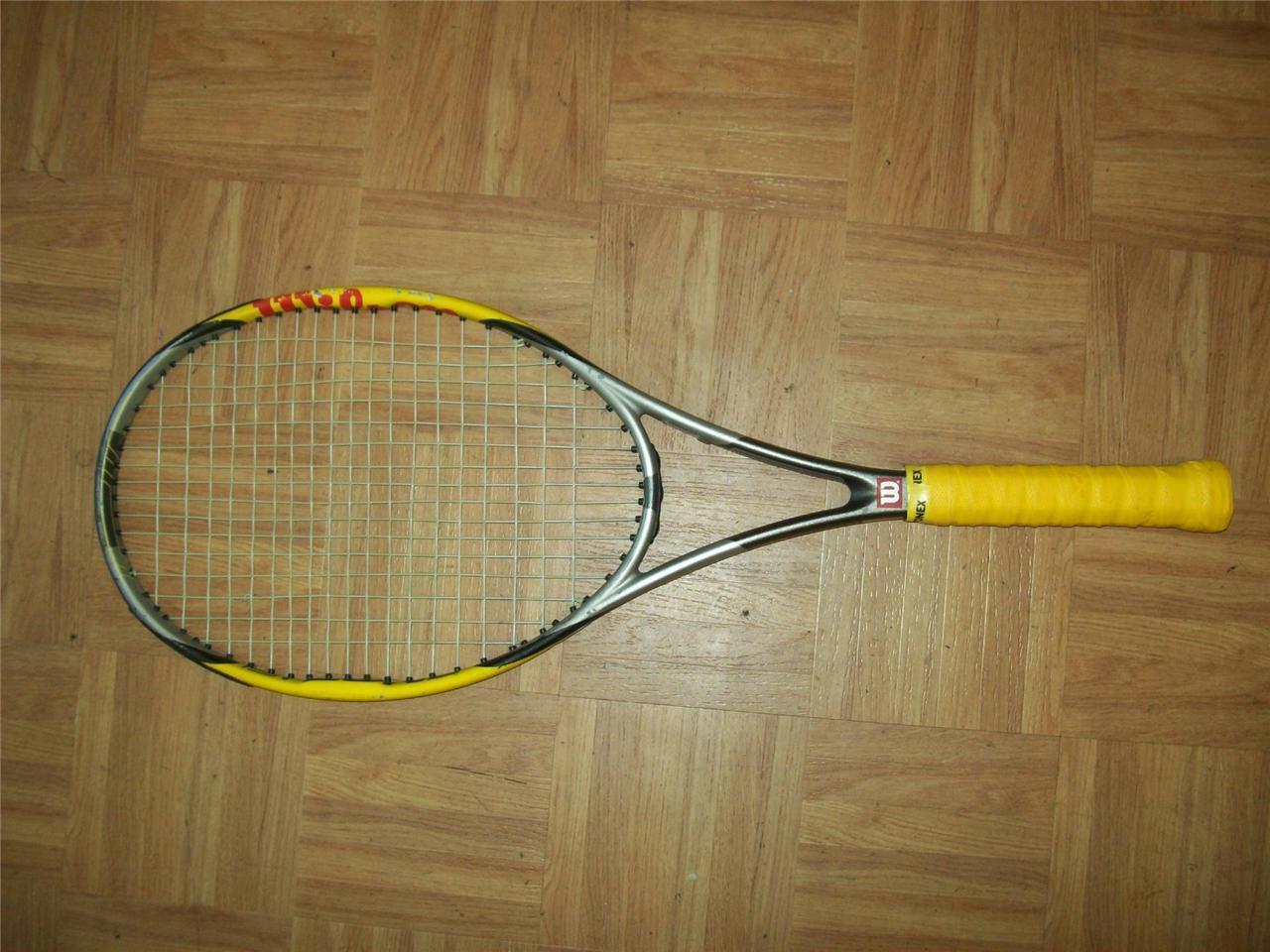 Wilson Hyper Pro Staff 7.1 95 4 1/4 grip Tennis Racquet