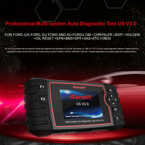 I Carsoft Us V2.0 Diagnostic Scanner Tool Ford Gm Dodge Jeep Chrysler Abs Dpf Srs by I Carsoft