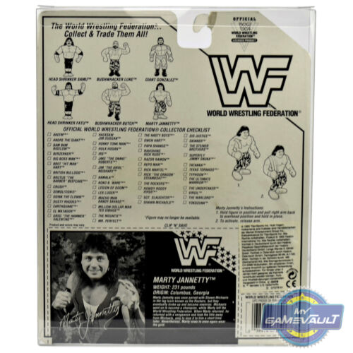 1 x caso di visualizzazione per il WWF Hasbro cardate Figura Forte Plastica PET 0.5 mm Protettore