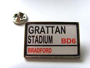 Bradford Bulls Stadium Panneau De Signalisation Insigne Broche Badge Cadeau RafraîChissant Et BéNéFique Pour Les Yeux