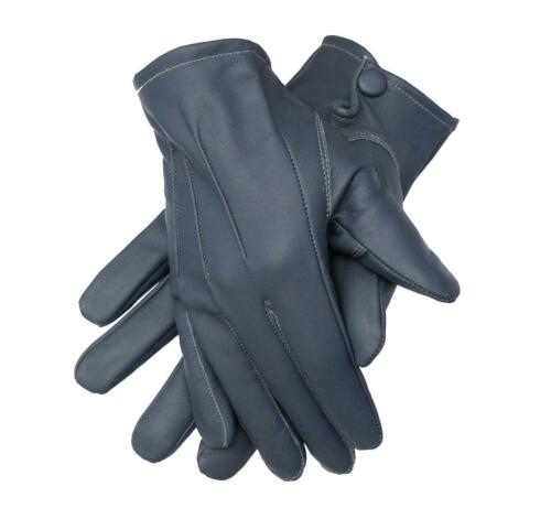 Men/'s Dress Driving Cycling Genuine Lambskin Leather Unlined Gloves