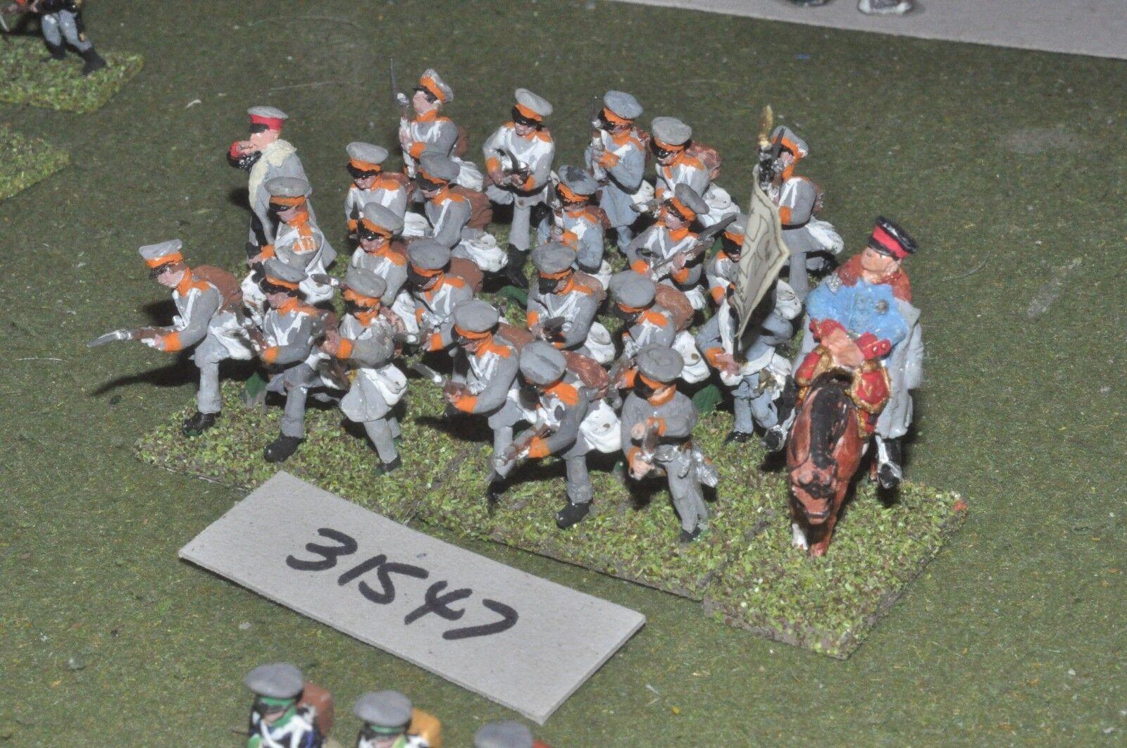 25mm napoleonic   prussian - landwher 24 figures - - - inf (31547) b0ce7c