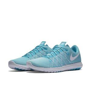 New Nike Flex Fury 2 Ladys Running Shoe 819135 300 Turquoise-Gray MSRP