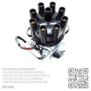 ELECTRONIC-DIZZY-V8-253-308-RED-HOLDEN-HT-HG-HQ-HJ-HX-HZ-SEDAN-WAGON-VAN-UTE