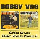 Bobby Vee Golden Greats/golden Greats Volume 2 2on1 CD Rubber Ball