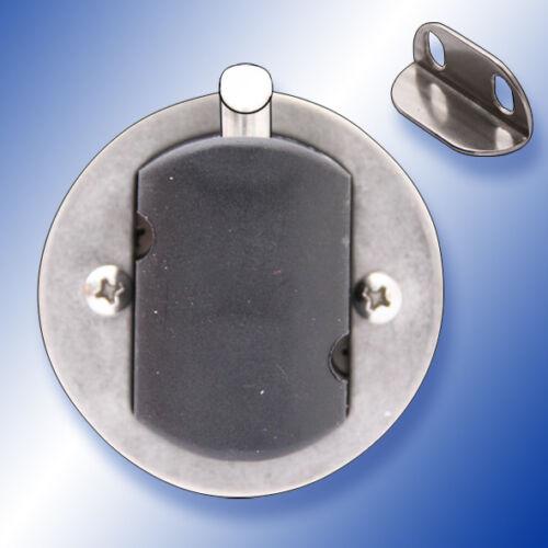 Einlassgriff A4 Edelstahl Bodenheber rund wettergeschützt glänzend poliert Niro