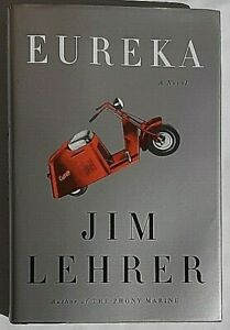 Eureka Signed by Jim Lehrer Autographed Hardback 1st Edition PBS News hour Host