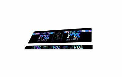 FOX DPS Float EVOL 2018 Rear Shock Sticker Factory Decal Kit Adhesive Oil Slick1