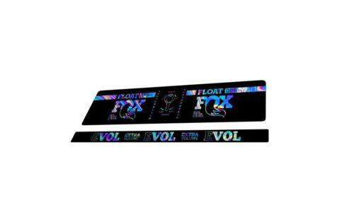 FOX DPS Float EVOL Performance 2018 Rear Shock Sticker Factory Decal Oil Slick 1
