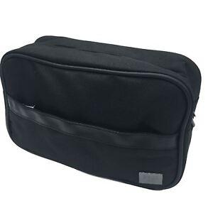 1379777c1b45 Details about Hugo Boss Men's Black Beauty Toiletry Bag Travel Overnight  Wash Gym Shaving Bag