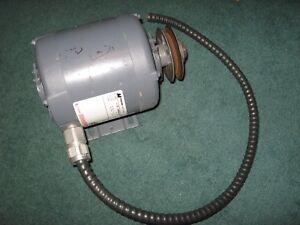 Motor-AC-5HP-575VAC-1725-RPM-Magnetek-Century-H957-8-140306-02-USED