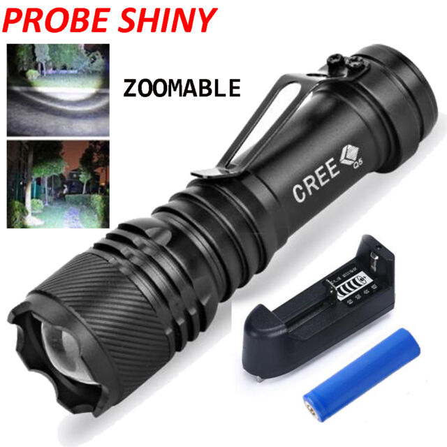 5000LM Q5 3 Modes Tactical LED Outdoor Camping Flashlight Torch Super Bright