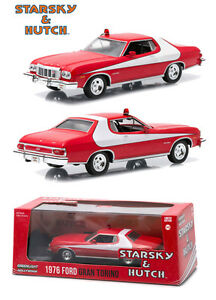 Starsky and Hutch TV 1976 Ford Gran Torino Die-cast Car 1:43 Greenlight 5 inch