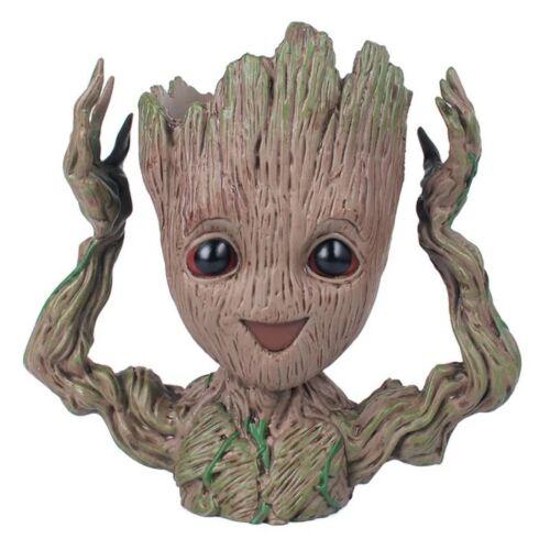 4 Arten Blumentopf Das Galaxy Baby Groot Pflanzgefäß Tree Man Kid Geschenk