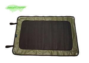 MDI Carp Neoprene 88 x 60cm Green Fishing Carp Bivvy Splash Tent Mat (Roll Up)