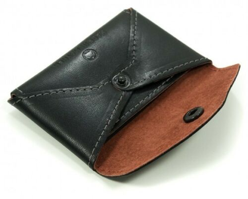 Made in USA Made in Mayhem Monroe Leather Coin Pouch Card Case Wallet