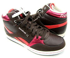 Reebok Shoes Courtee Mid Sports Earth Brown/White/Pink Sneakers Size 7 EUR 37.5