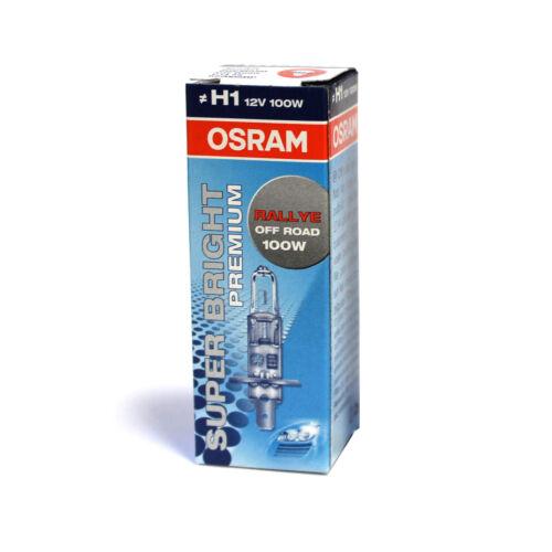 Genuine OSRAM Super Lumineuses Premium Off Road ampoule de phare 100 W H1 62200SBP