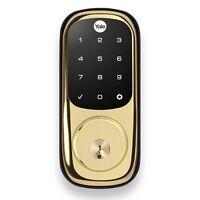 Yale YRD220-ZW Real Living Electronic Touch Screen Deadbolt Lock w/ Z-wave Alexa