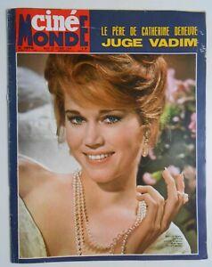 CINE-MONDE-1576-1964-JANE-FONDA-DORLEAC-ESCUDERO-ROLLING-STONES-VARTAN