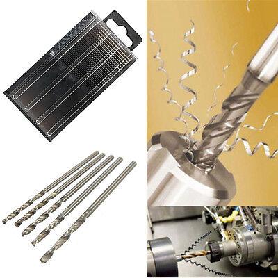 20pc Marvelous Mini HSS High Speed Steel Twist Drill Bit Set Tool Craft Case New