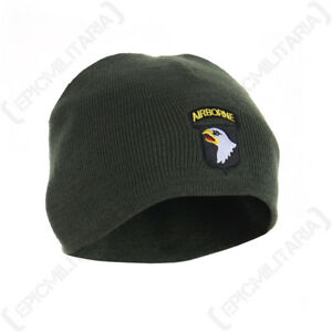 USA UNITED STATES ARMY 101st AIRBORNE DIVISION KNITTED HAT