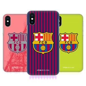 eb5af3e09d0 OFFICIAL FC BARCELONA 2018/19 CREST KIT HARD BACK CASE FOR APPLE ...