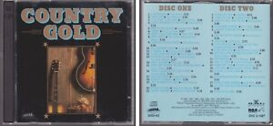 Details about COUNTRY GOLD Various Artists HEARTLAND MUSIC 2 CD Set 40  Classic Hits 80s & 90s