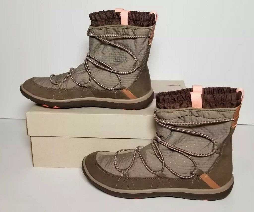 Clarks Aria Frost para mujer Talla 9 Tobillo Tobillo Tobillo botas Nuevo Caja Marrón Topo 261 19249  Los mejores precios y los estilos más frescos.