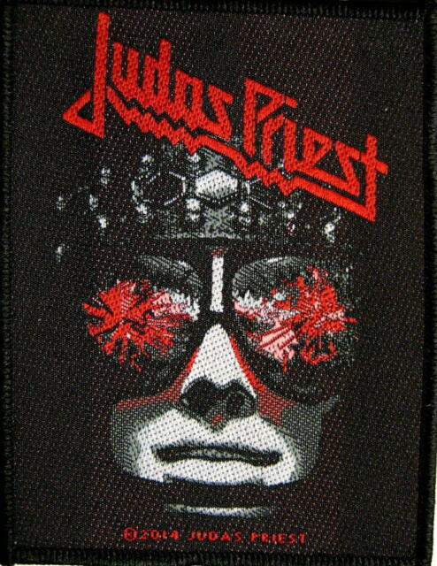 """JUDAS PRIEST PATCH / AUFNÄHER # 20 """"HELL BENT FOR LEATHER"""""""