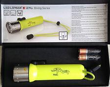 LED LENSER D14.2 neon Taucherlampe Taschenlampe neustes Modell 9114