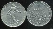 FRANCE  FRANCIA   1 franc semeuse 1985