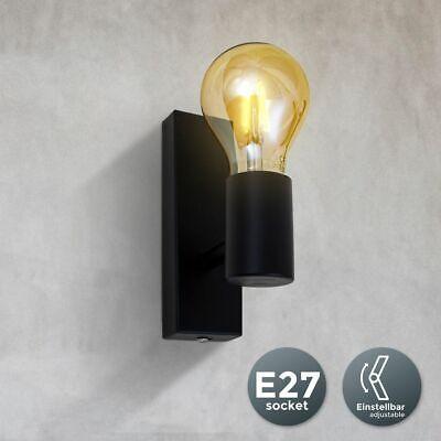Retro Deckenlampe Vintage Deckenleuchte Spot matt Industrie Wohnzimmer Flur E27