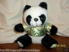 Panda Plush Green Gold Shirt 8""
