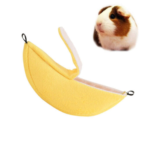 Banana Hamster House Small Animal Cozy Soft House Cage Hamster Accessories