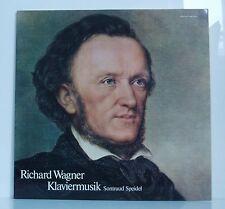 LP Richard Wagner Klaviermusik  Sontraud Speidel  Carus 1973 neu