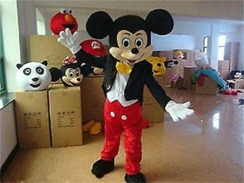 2019 Unisex Adult Donald Goofy Mickey Minnie Mouse Fancy Mascot Costume Dress