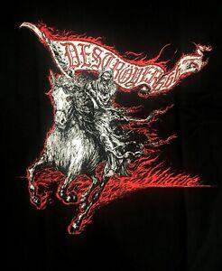 DESTROYER-666-cd-cvr-WILDFIRE-Official-SHIRT-XXL-2X-New-unchain-steel-phoenix
