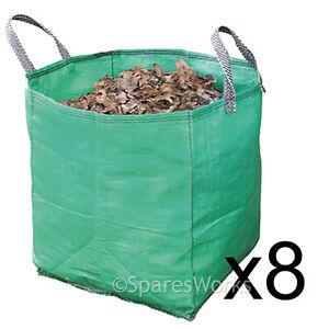 Jardin Sacs 450 L Sac Rasensack Big Bag hauteur 112 cm * 5 PCS Bags