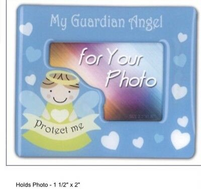"Magnetic Baby Girl Photo Frame "" My Guardian Angel"""