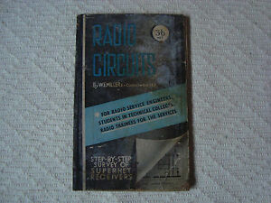 Details about 1945 BOOK RADIO CIRCUITS BY W E MILLER STEP BY STEP SURVEY OF  SUPERHET RECEIVERS