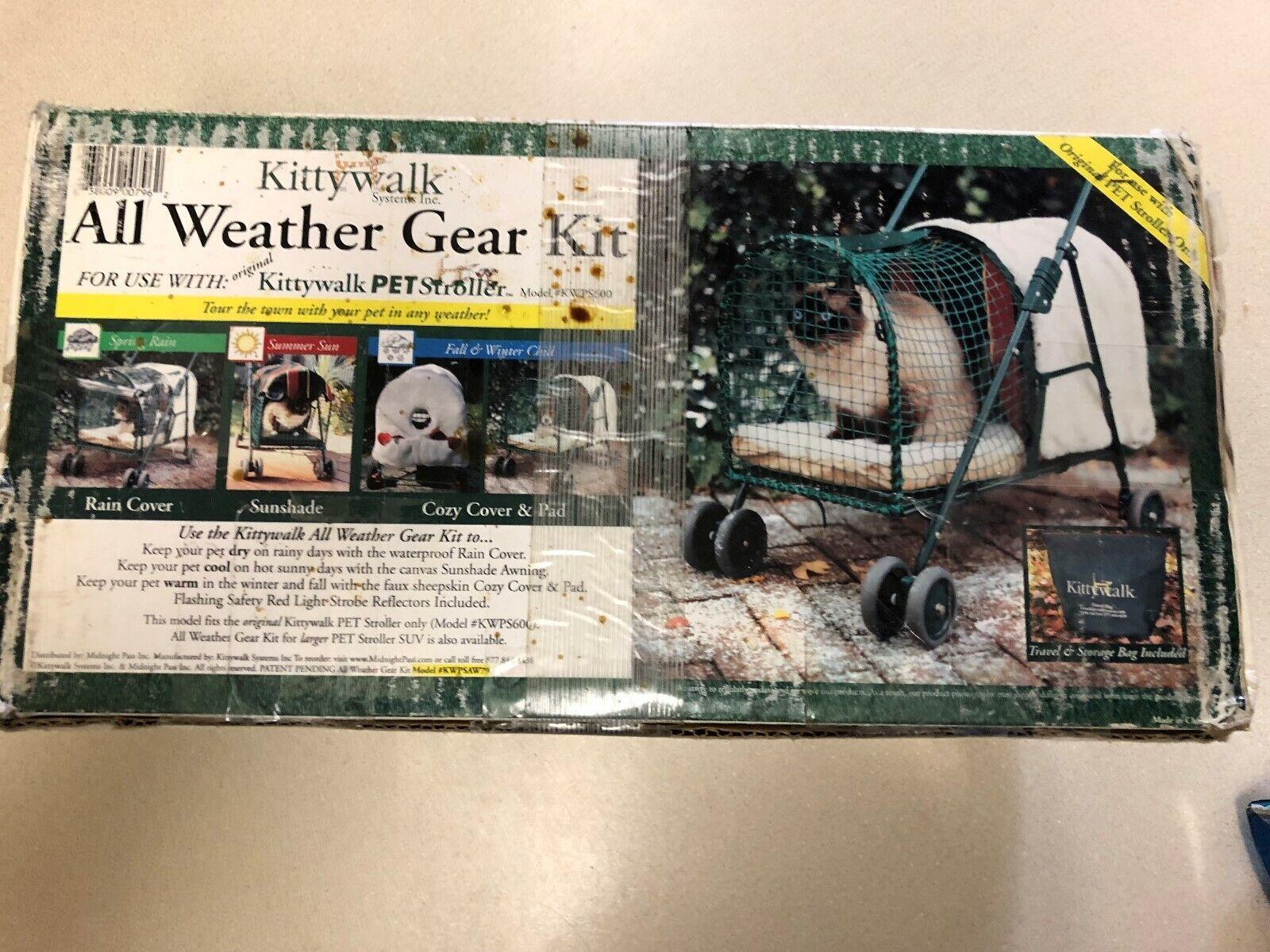 Kittywalk All Weather Gear Kit for Pet Stroller