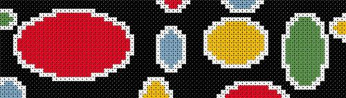 Dotty-Segnalibro Punto Croce Kit Nuovo Design ideale regalo