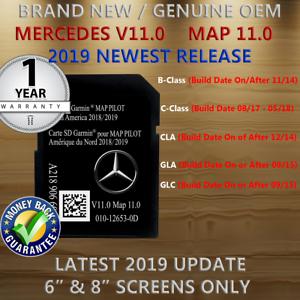 New SD Card Garmin Map Pilot 2018 2019 Mercedes-Benz
