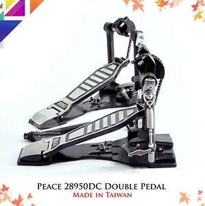 PEACE-P-28950DC-Double-Bass-Drum-Pedal