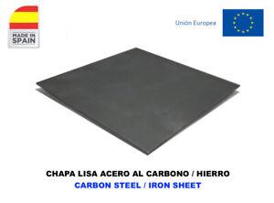 CHAPA ACERO AL CARBONO HIERRO CORTADA A MEDIDA/ CARBON STEEL IRON SHEET