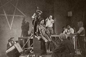 """""""METROPOLIS (Fritz LANG 1926)"""" Diapositive de presse originale du tournage fUcKY3d9-07203938-226862258"""