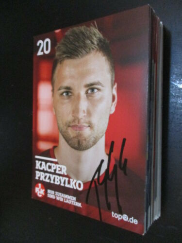 71013 Kacper Przybylko 1.FC Kaiserslautern original signierte Autogrammkarte