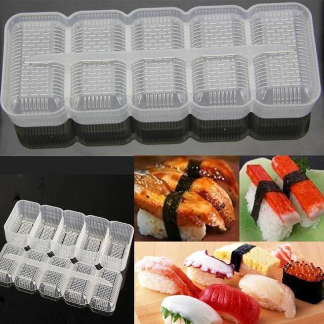New Japan Nigiri Sushi Mold Rice Food A Lattice Maker Non Stick Press Tool Great