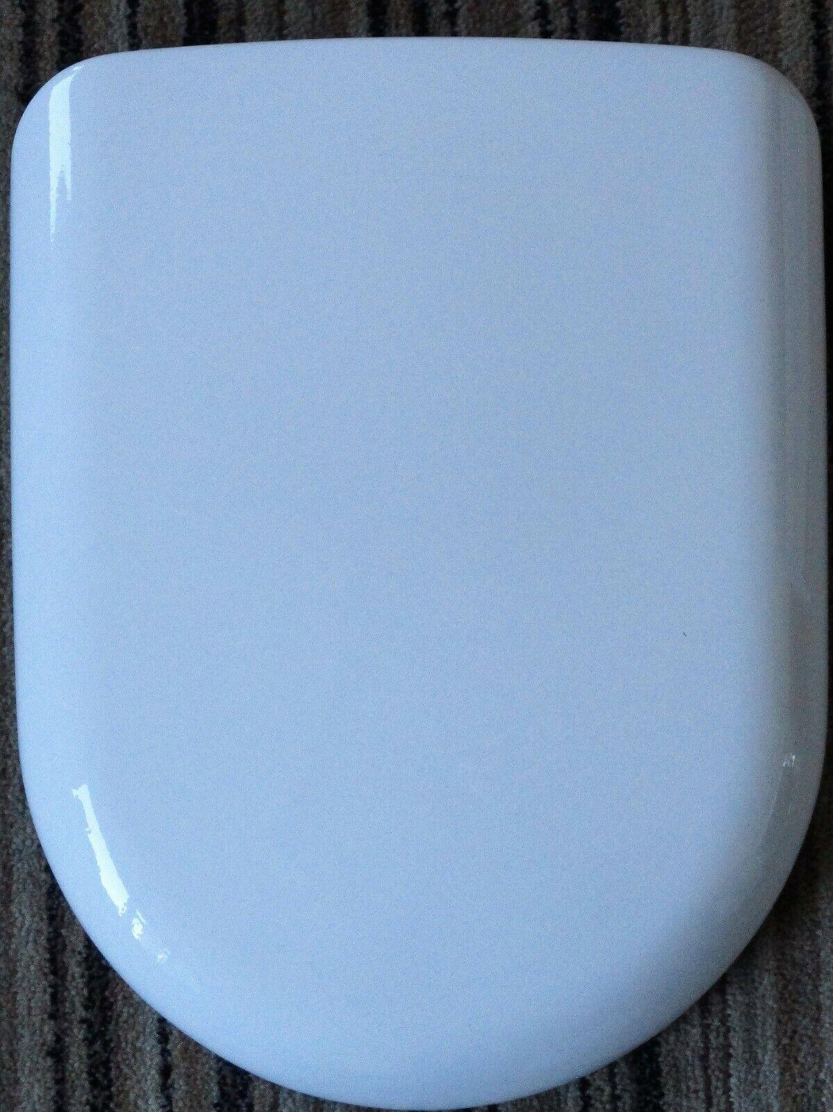 Pressalit Villeroy & Boch Magnum asiento del inodoro en blancoo con bisagras de acero